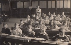 Wesleyan School Ulverston 1906 (Bennydorm) Tags: school vintage children lakedistrict cumbria methodism ulverston 1900s wesleyan furness