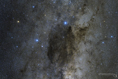 Coalsack Dark Nebula and the Southern Cross (TheAstroShake) Tags: canon southafrica space south nebula celestron coalsack astrometrydotnet:status=solved astrometrydotnet:id=nova270930