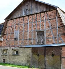 (:Linda:) Tags: brick barn germany bavaria village franconia halftimbered browndoor mansardroof ahlstadt