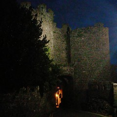 Photo of Conway Castle. One of the gate...
