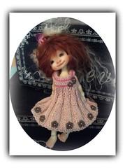 Gracie loves her new dress (Jonquil O) Tags: face up suzy tiny bjd kane nefer elfinhugs