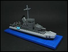 Coastal Defense Ship (Karf Oohlu) Tags: lego warship moc microscale coastaldefenseship