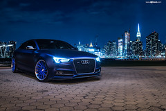 audi-s5-f451-spec2-polished-electron-blue-brushed-lip-5 (AvantGardeWheels) Tags: blue euro electron audi coupe lowered forged polished stance s5 directional 2dr fitment f451