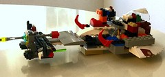 The 960 attack ship on a    Secret mission. #lego (shinnygogo) Tags: kids toy lego battle creation blocks spaceship