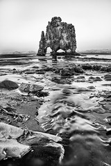 Enjoy one of my best and favourite BW works Monochrome Iceland Travel Rockformation Rock Ocean Ocean View North Cold Winter Islandia Explore Landscape Nature Tide (Nick Pandev) Tags: ocean travel winter cold nature monochrome rock landscape iceland islandia tide north explore oceanview rockformation