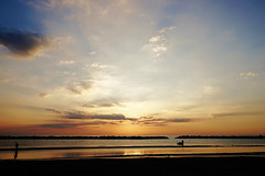 early morning (!ProPixel!) Tags: italien sea sky italy marina sunrise meer mare himmel sonnenaufgang igea bellaria