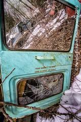 Only Break in Case of Emergency (lyta1138) Tags: ontario rust rockwood mcleansautowreckers