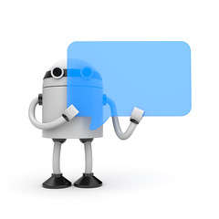 Robot with speech bubble (caprightmarketing) Tags: cloud sign illustration toy person robot 3d support chat comic technology message symbol text think cartoon balloon machine talk offer communication tip frame figure bubble advice info copyspace cyborg suggestion recommendation proposal shape speech say information exchange hint isolated speak android droid cyber debate dialogue bot opinion communicate dialog occupation