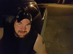 Small town Saturday Night (robertstinnett) Tags: truck town small dodge selfpic truc
