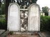 Grave at Žale Cemetery, Ljubljana, Slovenia (Wiebke) Tags: tombstone headstone gravestone ljubljana slovenia europe vacationphotos travel travelphotos žale žalecentralcemetery cemetery centralnopokopališčežale pokopališče bežigrad bezigrad