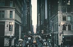 Manhattan Streets 4 (dannicamra) Tags: street city nyc urban usa newyork building nikon traffic manhattan architektur gebude strase d5100