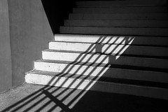 (Ivn Rubn) Tags: light shadow bw detalle detail luz monochrome stairs contrast time shapes places sombra bn minimal textures lugares rincones contraste instant formas minimalismo abstracto contemplative abstarct texturas escaleras contemplation corners tiempo instante penumbra monocromtico geometras geometries contemplacin contemplativo impasible impasive