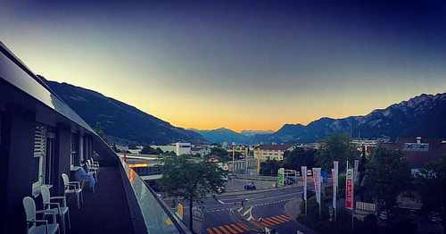 #alpenglow #alpenglühen