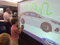 Alan has a go (goforchris) Tags: summer cars battersea stations batterseapark londonmotorshow