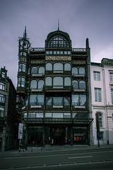 MIM, Bruxelles - Art Nouveau  - Paul Saintenoy (pas le matin) Tags: city travel brussels building architecture canon europe belgium belgique belgie outdoor bruxelles artnouveau 5d canon5d paulsaintenoy 5dmkiii canoneos5dmkiii