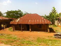 Tin roof house in Ibillo, Edo State, Nigeria (Jujufilms) Tags: poverty africa travel people photography photojournalism nigeria edo tinroof socialmedia africanculture ayotunde ibillo jujufilms jujufilmstv nigerianstreetauthor ogbeniayotunde