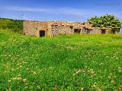 Vecchio casolare abbandonato sui monti Nebrodi !! Old abandoned House on Nebrodi Mountains !! (rikkuccio) Tags: verde campagna sicily prato hdr sicilia casolare monti rudere nebrodi flickrsicilia rikkuccio