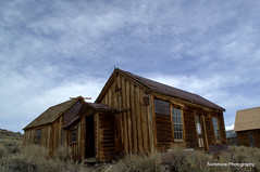 Property In Bodie! (Sommore Photography) Tags: california wood old sky house mountains history abandoned nature architecture mono wooden desert hiking bodie sagebrush goldrush monocounty bodiestatepark