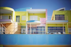 Pastel village. (Juliet everywhere) Tags: travel color portugal lines architecture buildings 50mm europe pastel lisbon sony colorphotography wanderlust traveller explore beachside travelphotography seetheworld travelshot sonyalpha sonyphotography sonyimages sonynex