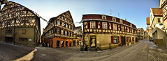 Herrenberg City Panorama (Michad90) Tags: street old city houses panorama buildings germany nikon herrenberg d90