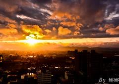 Sunrise (娜 娜☂Nana) Tags: life light sky sun love beautiful clouds sunrise nikon colorful natural taiwan 台灣 台灣taiwan 我愛台灣 d7000