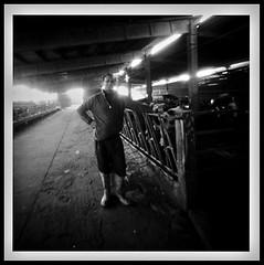 Basiasco - Portraits - the milker (schyter) Tags: bw 6x6 portraits fuji pinhole 100 ritratti acros stenopeica ciliegiinfiore aph09 basiasco themilker deliuxto36 ilmungitore