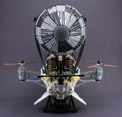 airship (psiaki) Tags: lego airship steampunk moc