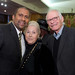 Talk show host Tavis Smiley (left) with Oscar®-winning songwriters Marilyn (left) and Alan Bergman