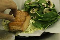 _MG_3711 Salmon w CSF cream sauce plating