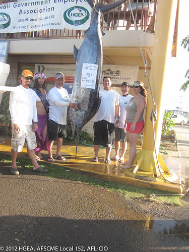 2012 biggest marlin & overall fish