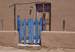 Blue Gate Mesilla, New Mexico (davev704) Tags: mexico gate mesilla bluegate mesillanewmexiconew
