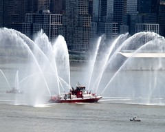 """MAR1 FDNY """"THREE FORTY THREE"""" Fire Rescue Boat, Hudson River, New York City (jag9889) Tags: city nyc rescue ny newyork fire boat marine manhattan space 911 shuttle intrepid wtc enterprise fdny department firefighters fireboat 2012 343 bravest 9112001 91101 marine1 10048 zip10048 jag9889 343fireboat y2012"""