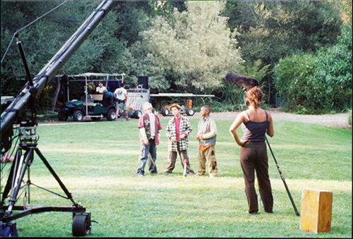 Filming Toon Disney