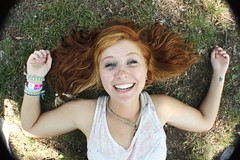 (Karly Brown) Tags: summer me tattoo ginger hipster redhead bracelets freckles tunnels plugs hemp