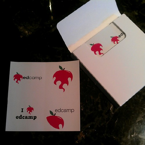 Edcamp Stickers by kjarrett, on Flickr