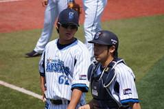 DSC01379 (shi.k) Tags: 横浜スタジアム 横浜ベイスターズ 120511 イースタンリーグ 高森勇気 松下一郎