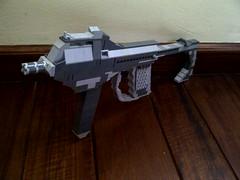 AS-32 Sub Machine Gun (Jedi Master Productions) Tags: modern star lego halo aliens clones future jedi guns wars combat smg sith droids warfare as32