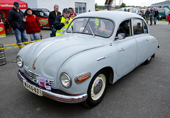 Tatra 600 Tatraplan (The Adventurous Eye) Tags: auto show air fair 600 moto 2012 tatra tatraplan hranice 1252012 airautomoto drahotue