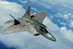 Hawaii National Guard F-22 Raptor (The National Guard) Tags: usa hawaii us hi f22raptor overthepacific hawaiiairnationalguard 15thwing 19thfightersquadron 199thfightersquadron 154thwing