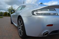 Aston V8V from rear nearside May 2012 (steveatesh) Tags: martin aston vantage v8v
