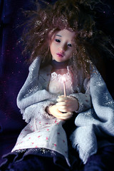 ...than to curse the darkness (bentwhisker) Tags: fairytale doll dandelion korean bjd resin waif narin bimong thelittlematchgirl 1184l