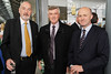 From left:Philip Maguire, John Tierney and Eamon O' Riley pictured at the launch of The Tall Ship Races 2012