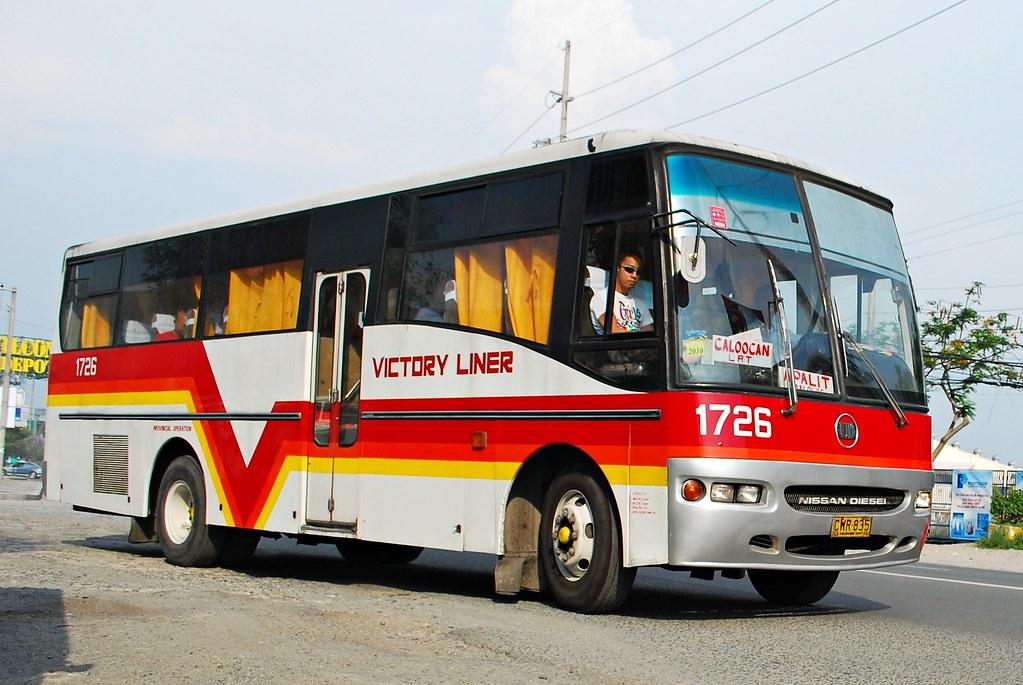 Victory Liner 1726 (raptor_031) Tags: Bus Buses Leaf Spring Nissan  Suspension Diesel Philippines