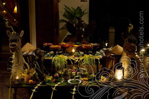 Afternoon Tea - Hotel Tugu Bali