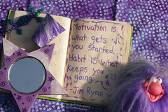 (Theresa Best) Tags: inspiration painting book colorful paint purple quote journal best theresa motivation 365 inspire 366 365project theresabest