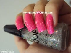Cirandinha (Hits) com Star (Risqué) (Camila (unhas)) Tags: pink nail rosa hits nailpolish unhas risque esmaltes esmalte pinknail speciallita