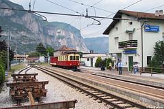 TT B 51 + VS 8101 + VS 8100, Mezzocorona Ferrovia (Ivan Furlanis) Tags: eisenbahn railway trento trentino ferrovia elettrica marilleva trasporti mal