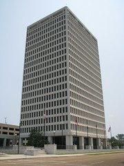 The Walter Sillers State Office Building (bluerim) Tags: mississippi 1972 jacksonms governmentbuilding stateofficebuilding hindscounty waltersillers