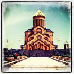 That's one big #ass #church in #tbilisi