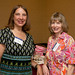 Linda Fennelly P'14 and Helen Scarlata